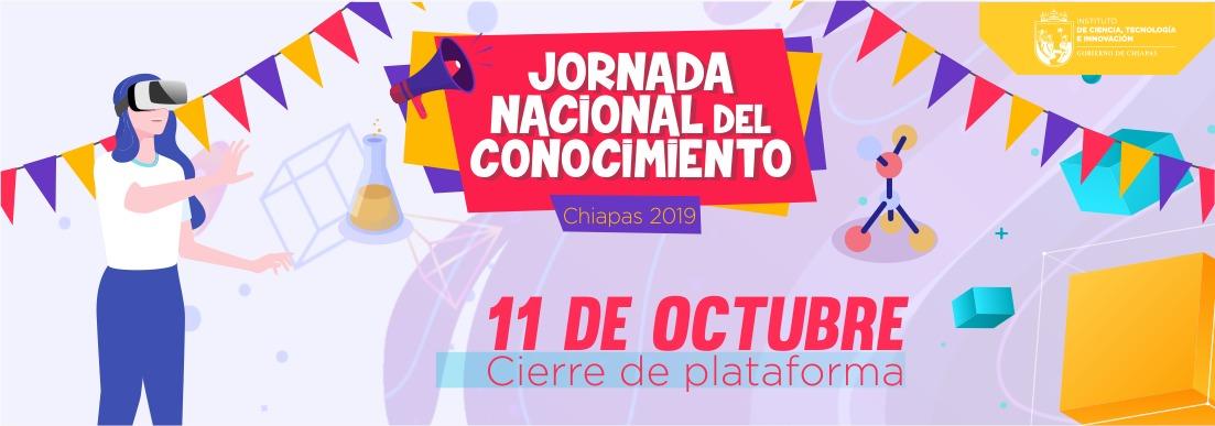 Jornada Nacional del Conocimiento Chiapas 2019